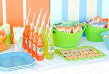 pool party ideas / by Misti Jefcoat