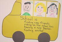 September / School Ideas / by Joann Prosperi Case