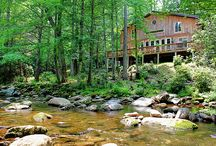 Dream homes / Hopefully modern and rustic and in the mountains!  / by Erin Whitman