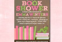 Bookworm Baby Shower / by One Swell Studio - Cara McGrady