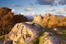 Castles of Wales / There are over 600 castles in Wales. From romantic to mystical, to ones you can stay in, there's a castle for every Rapunzel out there! / by Love GREAT Britain