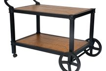 Tea Carts / Tea carts or beverage trolley. Serving cart or mobile bar. Whatever you call it, these durable outdoor options also serve up gracious style indoors. Available in a wide array of colorful hues. / by Woodard Furniture