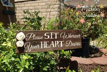 Signs / by Gianna Glasser Waterbury