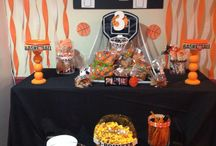 Basketball theme birthday bash!!! /  My sons 3rd birthday party! I had so much fun planning this!! / by Danielle McDermott Martin