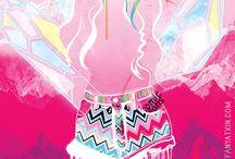 Tiffany Atkin [Design + Illustration] / The work of Brisbane-based graphic designer and illustrator Tiffany Atkin.  www.tiffanyatkin.com #tiffanyatkindesign / by Tiffany Atkin