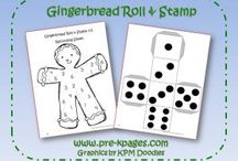 Preschool- Gingerbread / by Angela Ludens Reindl