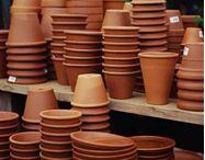 Clay Pot Ideas / by Janice McGrady