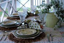 Tablecloths / by Joy Krein