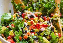 Salads / by Juanita Radelfinger