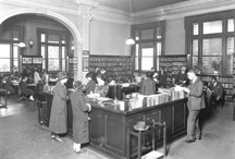 library history / by Trudy Raymakers