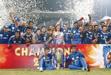 MI: The winners of CLT20 2011 / by Mumbai Indians