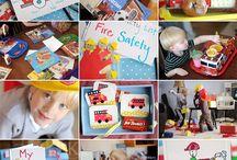 Preschool fire safety / by Bethanne Taylor