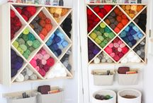 Knit & Crochet Organization / by Nancy Nally