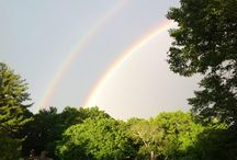 Double Rainbow / A gift from the sky following a summer storm on June 17, 2013. / by Boston College