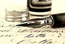 Calligraphy & Lettering / by Marietta Schwalbe