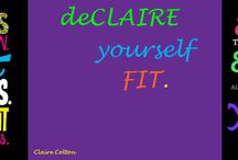 deCLAIRe yourself FIT - My Fit Family! / Anything and everything you want to share with our Fit Family on FB!  https://www.facebook.com/groups/271031436385985/ / by deCLAIRE yourself FIT!