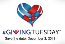 Giving Tuesday 2013 / The conclusion of your annual Thanksgiving feast will likely put you in full holiday shopping mode. But following the push of weekend deals comes another important day: #GivingTuesday (December 3, 2013). This day calls attention to nonprofit organizations like The Messages Project…organizations that need your help to make charitable giving possible throughout the holidays and into the new year.  Learn more: http://themessagesproject.org/archives/1080 / by The Messages Project