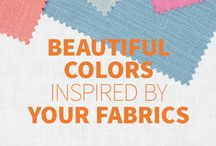 Colors Inspired by Fabrics / Find #color inspiration from the fabrics and furnishings in your home  / by BEHR®