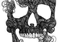 Skulls / by Solène Raidron