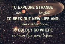 To boldly go... / by Tom Burns