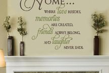Wall Stickers / by Karen Lee
