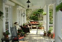 Porches n decks / by Debbie Irish