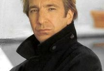 Alan Rickman ♥  / An amazing actor, an extremely SEXY man, with the MOST INCREDIBLE voice I have ever heard.  Sigh... what can I say?  I love him!! ♥♥♥ And I got to see him on Broadway 3 times in 2012!  He was AMAZING! / by Lorrie Kibler