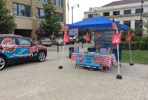 RelyLocal at the Fitness on the Square 2014 / All set up and ready to go at The Fitness on the Square.........come on down and see some great Fitness organizations, we have RelyLocal Rewards Cards available only $15.00 and good at over 400 deals and discounts all over Racine and Kenosha — with Donna RelyLocal and 2 others at Downtown Racine Monument Square.  / by Nick RelyLocal