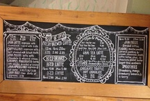 Chalkboard / by Laura May