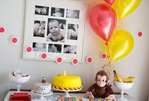 Curious George party? / by Lindsay McCabe
