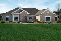 Custom Built Homes: The Alexandria Tradition / If you love The Alexandria Tradition model and are interested in making this house your new home, visit http://waynehomes.com/plan/alexandria / by Wayne Homes
