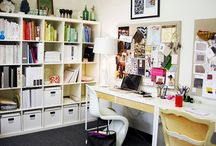 Interiors | Offices / by Megan Alley