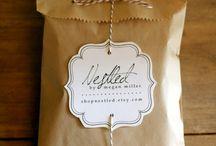 cute packaging / by Amy Cornwell, LLC