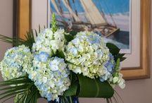 Flower gardens at the inn / We love flowers and have them all over the inn.  / by Captain Freeman Inn
