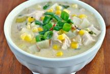 Eat: Creamy Soups / by Susan Kock