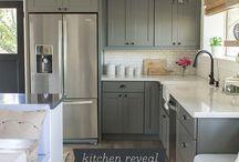 kitchen redo / by Kim Bond - A Spotted Pony