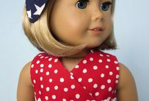 AG DOLL HOLIDAY OUTFIT- 4TH OF JULY / by Audrey Overbaugh