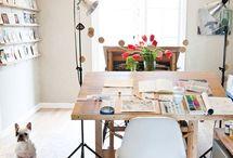 Office and desks / by laura juarez