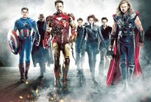 Avengers Assemble! / Marvel's Cinematic Universe and fan art based on those characters.  / by Chelsea Gerberding