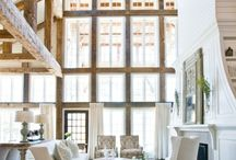 cool interiors & charming exteriors / Home Ideas / by Robin Stockard