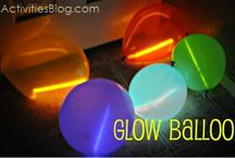 Glow Party Ideas / For kids birthday party / by Amanda Berend