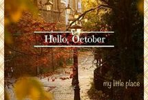 MONTH OCTOBER / by Curious To Know