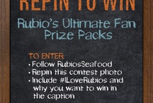 Pin to Win! / by Rubio's