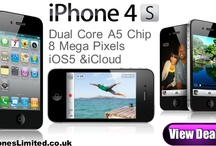 iPhone 4S Deals / Free Apple iPhone 4S contract deals with the cheapest UK prices for line rental on pay monthly contracts. / by Phones LTD - Compare Cheap Mobile Phone Deals