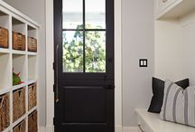 Mud room ideas / by Steph Griffen