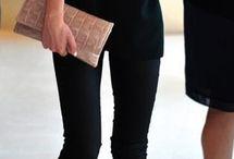 I love wearing black... / Black = NYC Chic / by Elyse Vergez
