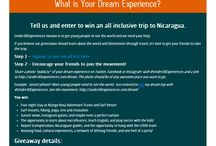Giveaway Nicaragua 2013 / giveaway / by Under30CEO