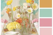 Yummy Color Combinations / by Kris Allbright