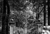 An Outdoor Way In ~ Gates, Doors & Windows  / by Mara Merrill-Andrews