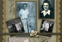 Scrapbooking - Heritage 7 / by Patti Craven